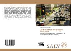Capa do livro de California State Automobile Association