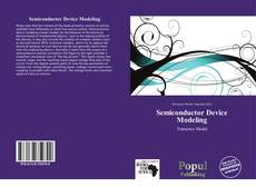 Capa do livro de Semiconductor Device Modeling
