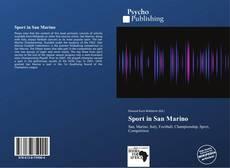 Bookcover of Sport in San Marino