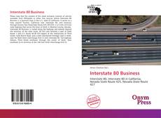 Bookcover of Interstate 80 Business