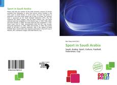Bookcover of Sport in Saudi Arabia