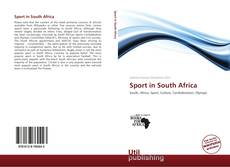 Bookcover of Sport in South Africa