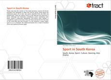 Bookcover of Sport in South Korea