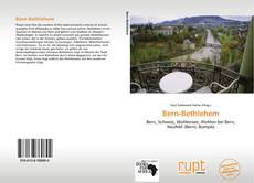 Bern-Bethlehem的封面