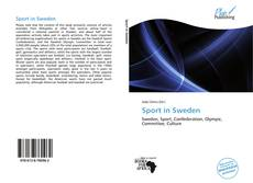 Bookcover of Sport in Sweden