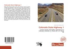 Bookcover of Colorado State Highway 1
