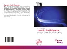 Обложка Sport in the Philippines