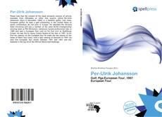 Capa do livro de Per-Ulrik Johansson