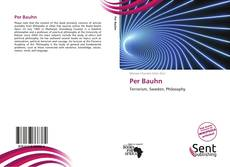 Bookcover of Per Bauhn