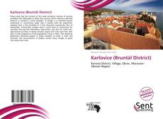 Bookcover of Karlovice (Bruntál District)