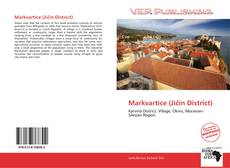Bookcover of Markvartice (Jičín District)