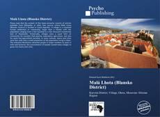 Malá Lhota (Blansko District) kitap kapağı