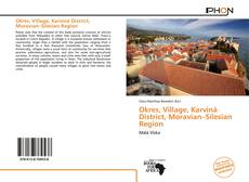Bookcover of Okres, Village, Karviná District, Moravian–Silesian Region