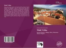 Malá Vrbka kitap kapağı