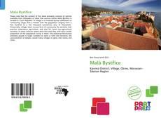 Malá Bystřice kitap kapağı