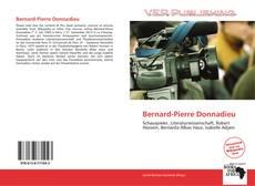 Copertina di Bernard-Pierre Donnadieu