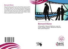 Обложка Bernard Alane