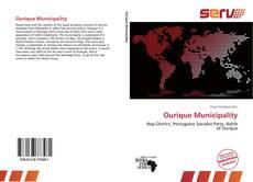 Capa do livro de Ourique Municipality