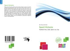 Bookcover of Sport Victoria