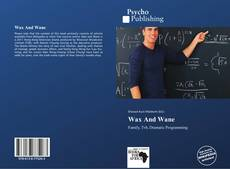 Wax And Wane kitap kapağı