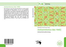 Bookcover of Antisemitismus (bis 1945)