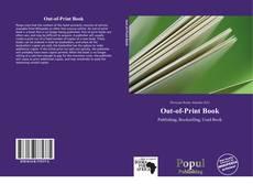 Couverture de Out-of-Print Book