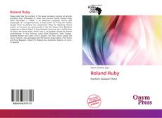 Bookcover of Roland Ruby