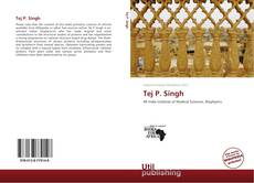 Bookcover of Tej P. Singh