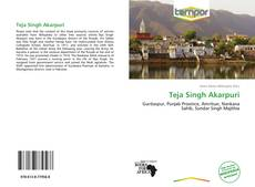 Bookcover of Teja Singh Akarpuri