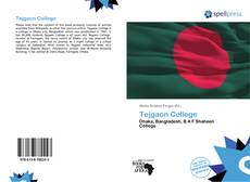 Bookcover of Tejgaon College