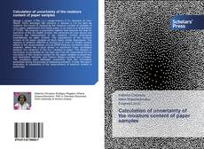 Bookcover of Calculation of uncertainty of the moisture content of paper samples