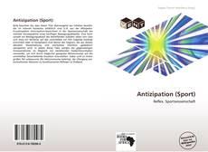 Buchcover von Antizipation (Sport)
