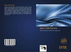 Bookcover of Sport Club Gararu