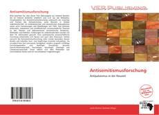 Обложка Antisemitismusforschung
