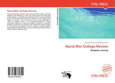 Bookcover of Naval War College Review