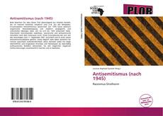Bookcover of Antisemitismus (nach 1945)