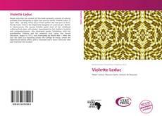 Violette Leduc的封面