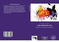 Buchcover von Antje Babendererde
