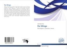 Обложка Per Winge