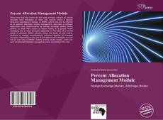 Portada del libro de Percent Allocation Management Module