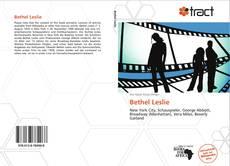 Bookcover of Bethel Leslie