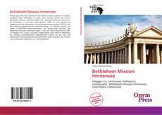 Bethlehem Mission Immensee的封面