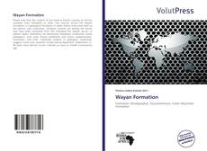 Wayan Formation kitap kapağı