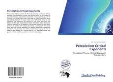 Bookcover of Percolation Critical Exponents