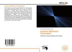 Capa do livro de Antoine Alphonse Chassepot