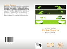Couverture de Antoine Clamaran