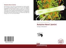 Bookcover of Antoine-Henri Jomini