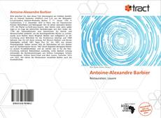 Bookcover of Antoine-Alexandre Barbier