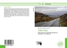 Copertina di Tejon Pass