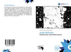Buchcover von Antje Wöhnke